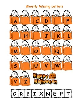 Ghostly Letters and Batty Numbers