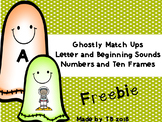 Ghostly Match Ups Freebie