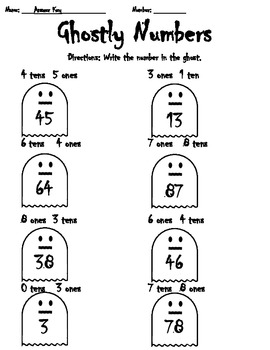 Ghostly Numbers