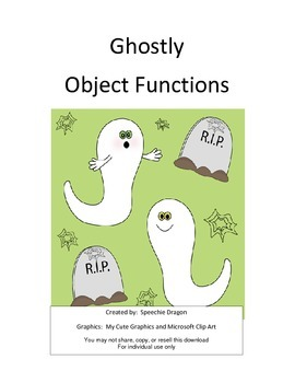 Ghostly Object Functions
