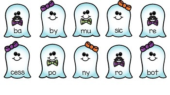 Ghostly Open Syllables