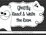 Ghostly Read Write the Room: Short O activity for Firsties