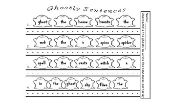 Ghostly Sentences and Tallies