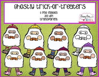 Ghostly Trick-or-Treaters