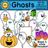 Ghosts Clip Art