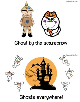 Ghosts Everywhere:  An Interactive Rhyming Book