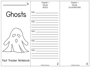Ghosts Fact Tracker Research Guide