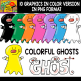 Ghosts - Free Cliparts Set - 11 Items