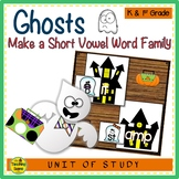 Ghosts Make A Short Vowel Word Family Center