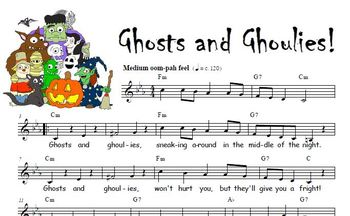 Ghosts and Ghoulies Song - FREE! by Positive American Music