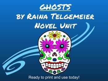 Ghosts by Raina Telgemeier Common Core Unit