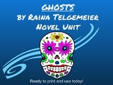 Ghosts by Raina Telgemeier Common Core Unit