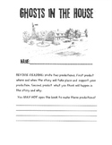 Ghosts in the House Guided Reading Packet