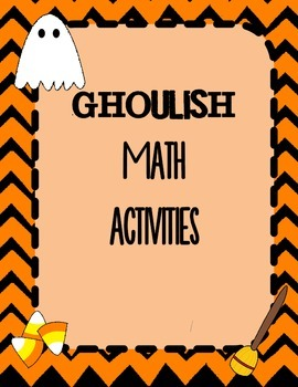 Ghoulish Math Activities