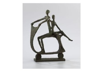 Giacometti and distorted animal sculptures PPT