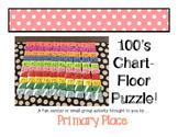 Giant 100s Chart Floor Puzzle!