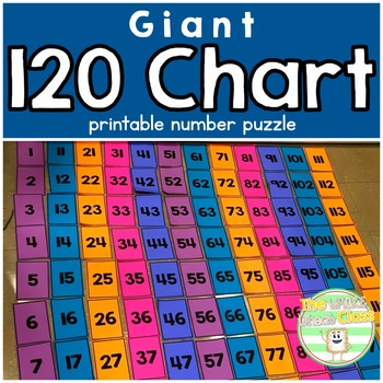 Giant 120 Chart Puzzle