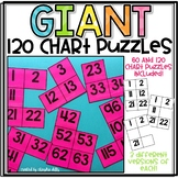 Giant 120 Chart Puzzles