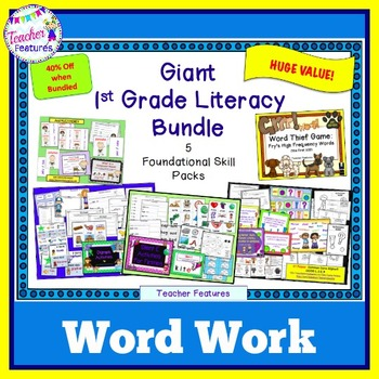 Word Work for 1st Grade
