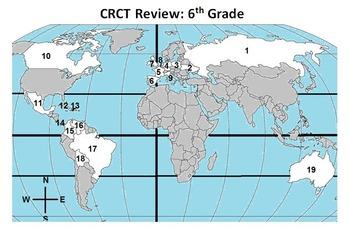 Giant 6th Grade CRCT Review! (Now Georgia Milestones!)