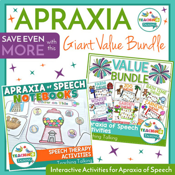 Giant Apraxia of Speech Bundle
