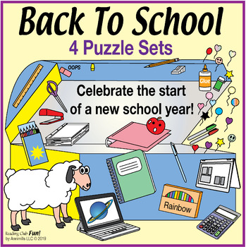 Back to School Puzzle Bundle – A Fun Way to Start the New Year Right