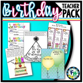 Birthday Pack **Bundle**