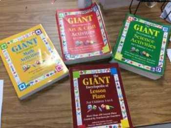 Giant Books for Preschool