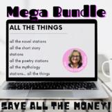 Growing Bundle of Novel literacy Stations: Poetry, Mythology, Epic, Novel,Drama