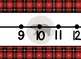 Giant Cabin Bear Themed number line 0-100