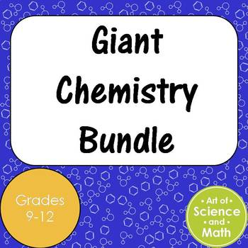 Giant Chemistry Bundle