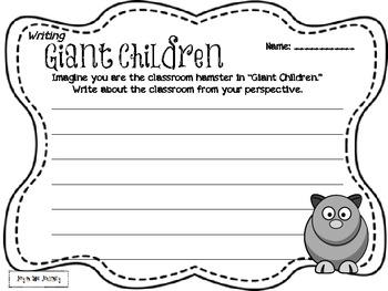 """""""Giant Children"""" Poem Activities"""