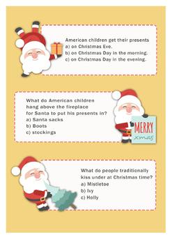 Giant Christmas Quiz
