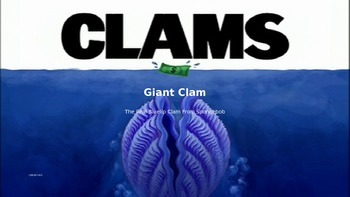 Giant Clam - Power Point - Information Facts Pictures Review