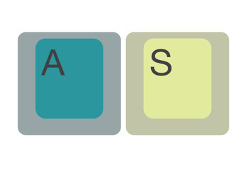 3 Giant Computer Keyboard Displays (for PC + Chromebook + Mac)