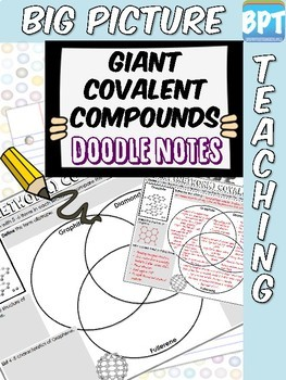 Giant Covalent Structures Activity Worksheet Doodle Notes