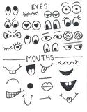 Giant Crayon Faces