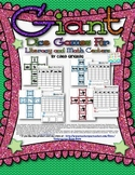 Giant Dice Games For Literacy and Math - Bundled Set