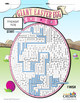 Giant Easter Egg Maze - Puzzles, Games, Mazes, Free