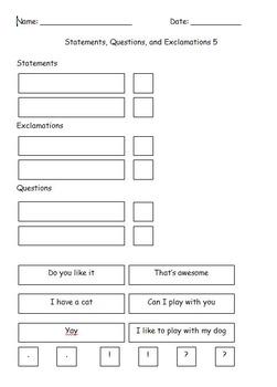 GIANT First Grade Grammar/Writing Worksheet BUNDLE