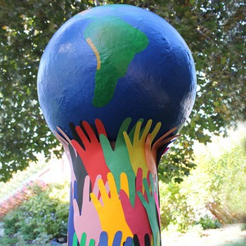 Giant Globe for Earth Day