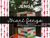Giant Jenga Review Game *Editable