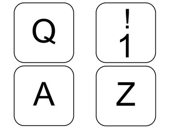 Giant Keyboard Keys for Mac