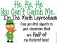 Giant/Leprechaun Measurement {Non-Standard Units}