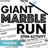 Giant Marble Run - Outdoor STEM / Team Builder
