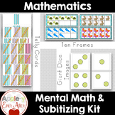 Giant Math Package - Subitizing Teacher tools & Student Ga