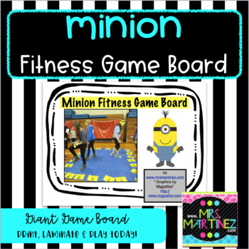 Giant Minion Fitness Game