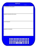 Giant MyPhone Text Message Activity Template