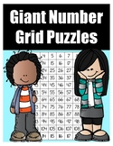 Giant Number Grid Puzzle