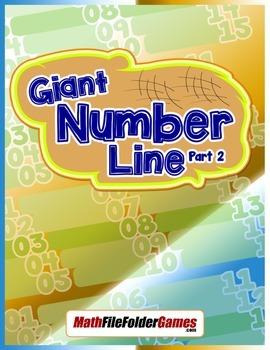 Giant Number Line {Integer Activity}